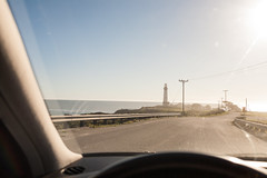 _ (cito17) Tags: ocean california road sunset sky lighthouse beach car coast warm driving highway1 americana canoneos5d canon35mmf14l