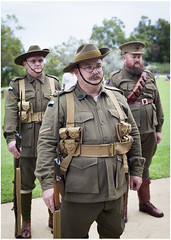 Dressed to kill (Jerome Cornick) Tags: soldier army uniform australia perth nurse ww1 kingspark sunsetservice fromelles