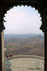 View from Monsoon Palace-Udaipur (Veena Nair Photography) Tags: travel india rajasthan udaipur viewthroughthewindow monsoonpalaceudaipur