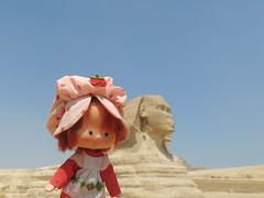 Riddle of the Sphinx (Eurynome101) Tags: egypt strawberryshortcake