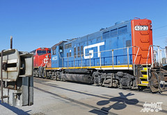 GT 4623 (Ramblings From The 4th Concession) Tags: freighttrains gtw cnrail emdlocomotives gp9r cndundassub gt4623 panasonicfz1000