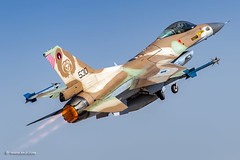Afterburner Thursday!  Nir Ben-Yosef (xnir) (xnir) Tags:  outdoor aircraft f16 barak thursday nir afterburner benyosef f16c xnir nirbenyosefxnir