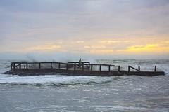Winter sea (Bonifacio Pontonio) Tags: sea mare bonifacio wintersea marmediterraneo maredinverno martirreno bonifaciopontonio