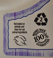 Why I Shop At Sprouts Farmer's Market! (Jo-Feels Like Winter Out There!) Tags: rabbit words bottle purple label letters plastic numbers laundry 121 100 symbols product pictogram recyclable nottestedonanimals wk42 moneybackguarantee flickrbingo4 flickrbingo4i21