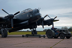 Lancaster Dispersal (andrew_@oxford) Tags: heritage force aviation air events centre royal lincolnshire east 1940s lancaster timeline bomber command raf dispersal avro kirkby