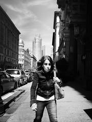 Donna (ShelSerkin) Tags: street nyc newyorkcity portrait blackandwhite newyork candid streetphotography squareformat gothamist iphone mobilephotography iphoneography shotoniphone hipstamatic shotoniphone6
