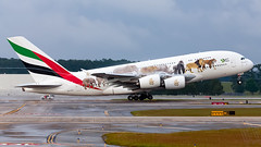 A6-EEQ-Emirates-A380-800-IAH-2016-04-24 (GFB Aviation Photography) Tags: emirates a380 iah kiah a380800 ateeq unitedforwildlife
