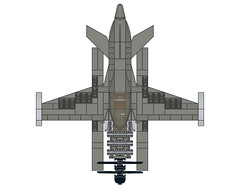 D4CRazortail004 (Dragonov Brick Works) Tags: lego aircraft snot ldraw studless miniscale
