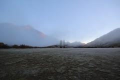 Ben Lomond Station (PalmyLisa) Tags: morning newzealand fog early ducks queenstown benlomond lakewakatipu mokelake