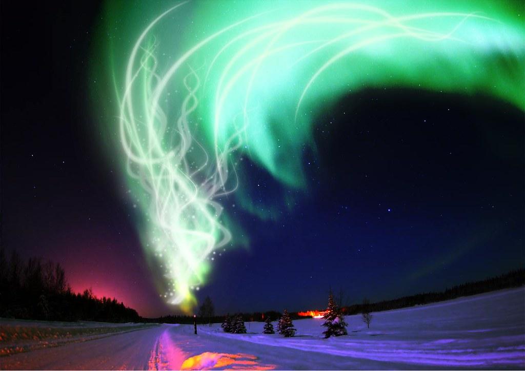 Ngắm Bắc cực quang