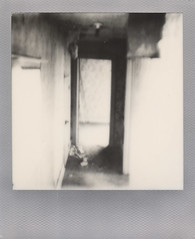 Locked away (benjaflynn) Tags: blackandwhite bw house abandoned film home monochrome farmhouse analog rural vintage silver polaroid sx70 illinois antique interior empty exploring gray freaky dirty ceiling retro hallway creepy falling indoors abandonedhouse vacant inside expired uneasy locked instantcamera pola rubble trespassing ruined bigrock bedrooms countryhouse expiredfilm roid lockedup chills deteriorating polaroidsx70 lockedaway instantfilm thecountry scannedfilm primelens polaroidweek insta polalove rurality fixedfocallength roidweek secrethallway epsonperfectionv500 landcamerasx70 theimpossibleproject impossiblefilm locksfromtheoutside silverframeedition exp0514 roidweek2016 polaroid116mmf8lens polaroidweek2016 bwsx70silverframe
