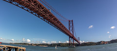 IMG_4176 (g.viegas) Tags: bridge red panorama portugal river spring lisboa lisbon wideangle fisheye 24mm tejo amarlisboa canon100d bigcapture