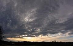 2016_0425Sunset-Pano0003 (maineman152 (Lou)) Tags: sunset sky panorama cloud sun nature clouds skyscape landscape cloudy maine april sundog cloudysky skyview naturephotography skyscene landscapephotography naturephoto skycolor skycolors springsky skydrama landscapephoto