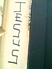 JESUS grafitti (Art&Music*Woo-Hoo) Tags: liverpool grafitti jesus merseyside picmonkey2015eireukus streetdocumentaryi