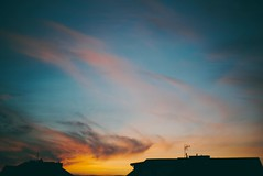 1 May (A. Baraska) Tags: sky evening coulds