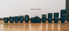 nikon family (mariosworld343) Tags: zeiss 35mm lens nikon 85mm sigma gear 300mm porn 58mm nas 135mm 70200mm 105mm 2470mm 1635mm d810