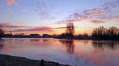 20160119_Amstel (3) (GemeenteUithoorn) Tags: winter cold holland ice frozen frost bevroren nederland amstel landschap noordholland ijs koud landschappen waterlijn uithoorn zonsopkomst hollandse vriezen dekwakel dorpscentrum molenvaart