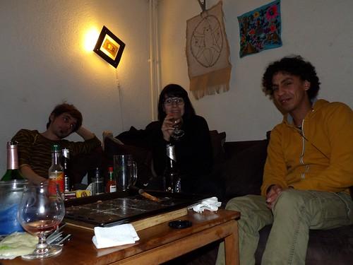 Sarah et Sylvain, qui nous hébergent à Lausanne