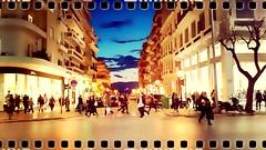 People walking (thakiot) Tags: people shopping movie walking like greece thessaloniki timeless macedonian makedonia onstreet tsimiski  macedoniagreece
