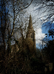 St Mary's from the river path (HoosierSands) Tags: london church victorian hanwell georgegilbertscott churchofengland