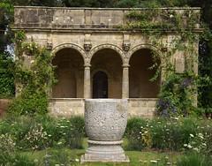 sunken garden (singinghedgehog) Tags: urn garden italian marble sunken summerhouse byzantine loggia nymans istrian