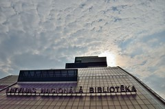 2015 09 24 097 Riga (Mark Baker, photoboxgallery.com/markbaker) Tags: city autumn urban architecture modern photo europe european baker outdoor mark library union eu baltic latvia september national photograph states riga rga 2015 nll latvijas bibliotka nacionl picsmark