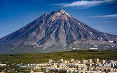 Volcano Koryaksky