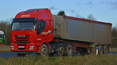 PK62 UHN (panmanstan) Tags: truck wagon motorway yorkshire transport lorry commercial newport vehicle freight iveco bulk m62 haulage hgv stralis