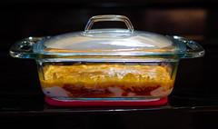 buffalo chicken cheese dip (YUM!) (severalsnakes) Tags: food chicken kitchen glass cheese buffalo pentax cook missouri superbowl dip bake cookware pyrex ks2 glassware sedalia bakeware da5018 saraspaedy