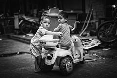 Kids Bangkok (siebe ) Tags: road street boy blackandwhite boys monochrome kids children thailand photography child play bangkok young streetphotography photojournalism documentary thai soi 2016      siebebaardafotografie