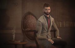 deadwool - peak suit (wearesecondlife) Tags: event chic monsieur deadwool
