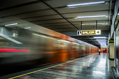 Metro (ekk7283) Tags: city travel urban canon mexico perspective culture