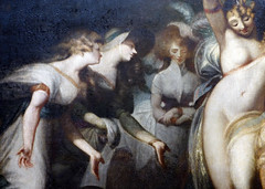 Fuseli, Titania and Bottom (detail), c. 1790