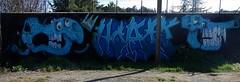 Hazo (tomatokid99) Tags: streetart france art skull graffiti urbanart graff gard crâne monoblet hazo
