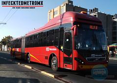 Volvo BRT Upgrade 7300 Metrobus CE4-17MSA L-6 (infecktedbusgarage) Tags: mexico volvo df camion upgrade l6 ciudaddemexico brt gmt metrobus busrapidtransit articulado mexicanbus cdmx 7300brt volvo7300 grupometropolitanodetransporte ce417msa