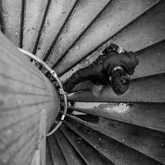 spiral stairs (Carsten Tamm) Tags: stairs spiral uni bochum rub wendeltreppe unibochum