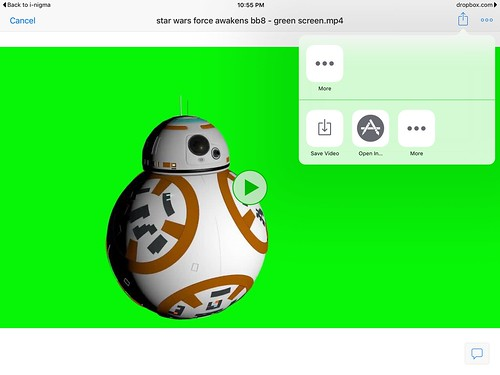 Save Video in DropBox for iPad to Camera by Wesley Fryer, on Flickr