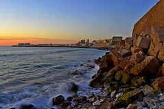 32-366 (Carlos Sicre) Tags: santa espaa del atardecer mar maria playa andalucia cadiz anochecer