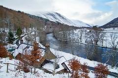 Glen Lyon (Bridge of Balgie) (eric robb niven) Tags: winter snow mountains nature walking landscape scotland landscapes outdoor perthshire hills glenlyon ericrobbniven