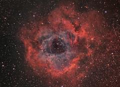 NGC2237_RGB-b (Chuck Manges) Tags: rosette celestron c11 astrotech at65edq qhy9m qhy23m hyperster