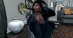 Home Alone (Veronique Dubois Royale......) Tags: slink purepoison analogdog deaddollz maitreyalara nrageposes