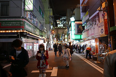 P1020021.jpg (Ryosuke Yagi) Tags: building night buildings tokyo town view shot nightshot scene electronics  akihabara nightscene nightview electronic   electronictown