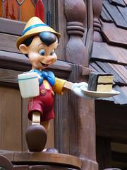 Pinocchio ... (thinduck42) Tags: california sculpture puppet disneyland cartoon disney panasonic animation anaheim themepark marionette fz200 pinocchico