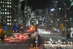 nagoya14674 (tanayan) Tags: road street light urban japan night town alley nikon cityscape view nagoya  sakura sakae  aichi j1