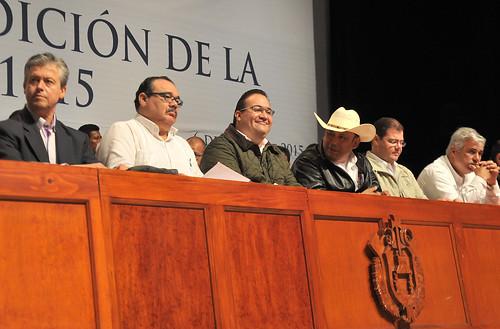 El gobernador Javier Duarte de Ochoa encabezó la Conmemoración del Centenario de la Expedición de la Ley Agraria del 6 de enero de 1915.