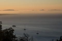 Tr es calo (CreazioniDusiero) Tags: sea summer espaa beach nature sunrise canon landscape island mar spain tramonto puestadesol formentera isla spiaggia isola oniricamente 0base