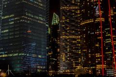 Light Pattern (*Capture the Moment*) Tags: clouds reflections singapore nightshot wolken reflexion singapur centralbusinessdistrict 2015 nachtaufnahmen sg50