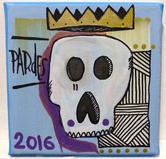 Tarek's painting (Pegasus & Co) Tags: urban streetart art collage painting skull gallery drawing contemporaryart collages lifestyle drawings exhibition dessin hype beautifulcolors bd dessins artistes  urbain tarek   contemporain    skullart