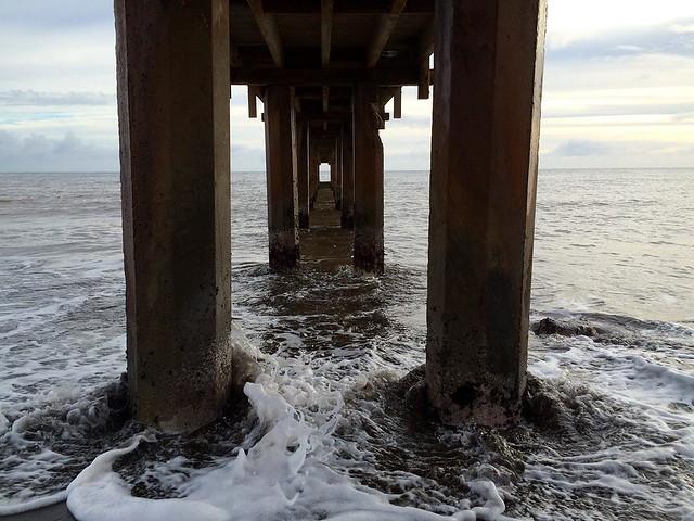 The pier at Waimea