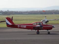 G-HAMI Fuji 200 (Aircaft @ Gloucestershire Airport By James) Tags: james airport fuji gloucestershire lloyds ghami egbj fa200